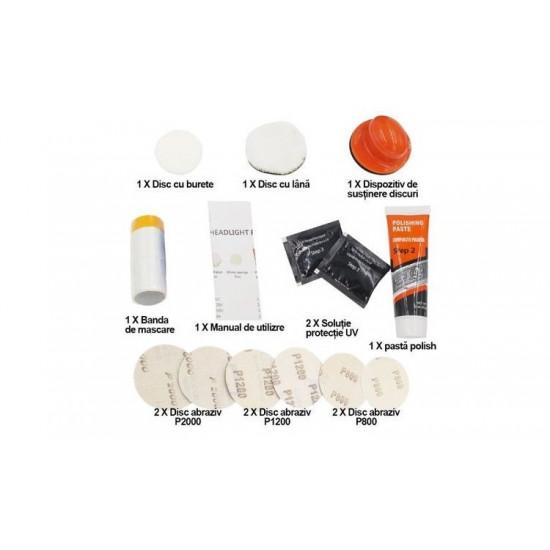 Kit polish pentru faruri Visbella