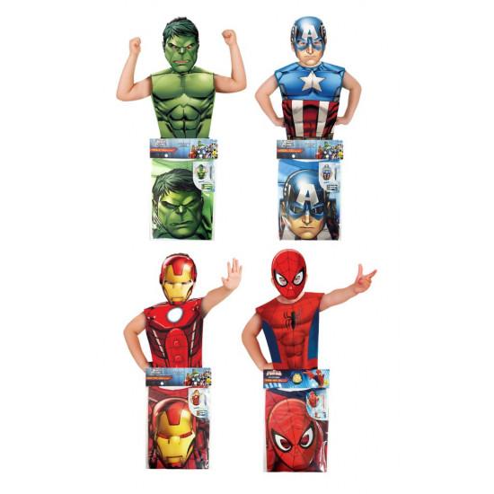 Set vesta + masca - eroii Marvel