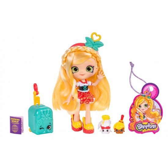 Set cu papusa si accesorii Shoppies -SPAGHETTI SUE