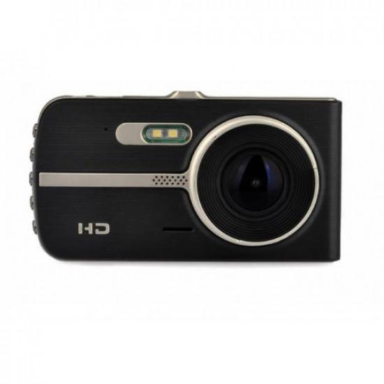 Camera DVR auto inregistrare fata/spate FULL HD 1080p ecran 4 inch unghi 170 grade