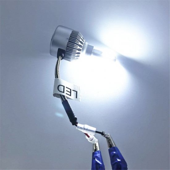 Set becuri auto LED C6 H7, 3800 lumeni, 36 W