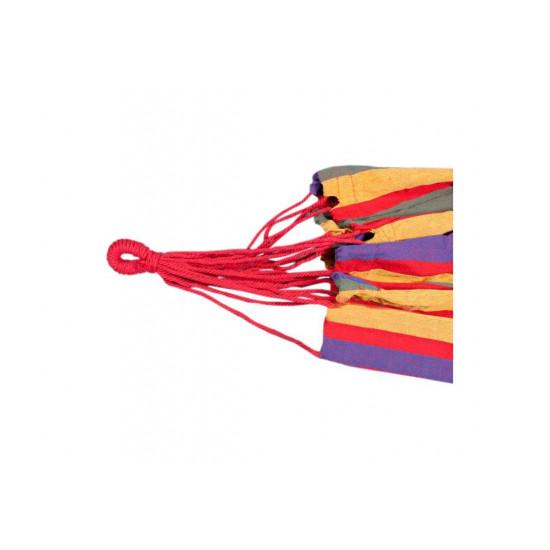 Hamac multicolor cu sac de depozitare