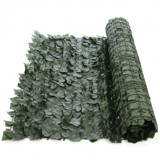 Gard artificial, vesnic verde 100 x 250 cm