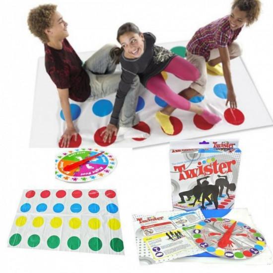 Joc de societate Twister mai multe miscari , 2-4 jucatori