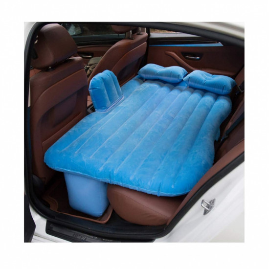 Saltea auto gonflabila Travel Bed, 138 x 85 x 45 cm, suporta 600 kg