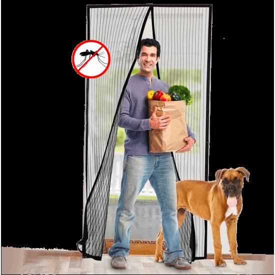 1+1 gratis - Plasa anti-insecte cu magnet  90X210 cm