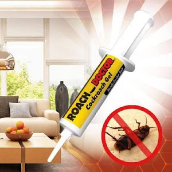 Set 2 x Solutie Insecticid Anti Gandaci Roach Doctor, tip seringa